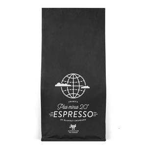 Kafferostare Per Nordby - Espressobönor - Plus minus 20° - Lätt mörkrostade kaffebönor - 350g