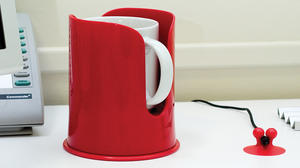 Dreamfarm - Mugghållaren Spink - Charcoal Black - håller din dryck på plats
