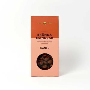 Mandel och Mandel - Brända mandlar kanel - Läckra kanderade mandlar handgjorda i Sverige