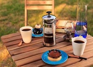 Espro - Press P5 - Kaffepress i glas och rostfritt stål med dubbla mikrofilter - 530ml