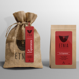 Etnia - La Esperanza - Colombia - Mellanrostade kaffebönor - 250g