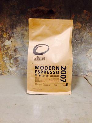 da Matteo - 2007 Modern Espresso - Mellanrostade Espressobönor - 500g