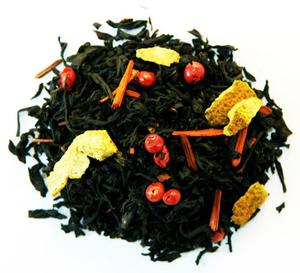 Johan & Nyström - Lussete - Julte - svart te med saffran, apelsin, chili