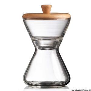 Chemex - Mjölk- och sockerset - I munbåst glas
