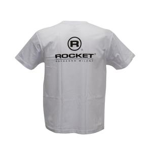 Rocket Espresso - Rocket T-Shirt - Vit Storlek S