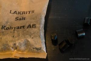 Kolsvart  AB Malmö - Lakrits Rökt  - 100g