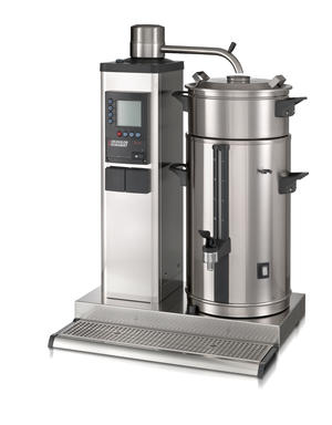 Bonamat - B10 L Bordsmodell - Urnbryggare - Brygger stora mängder kaffe i en behållare à 10 liter på vänster sida