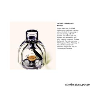 ROK Espresso Maker - COPPER - Espressomaskin miljövänlig utan el