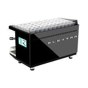 Elektra - KUP 2-group Pearl Black - Snygg, effektiv espressomaskin för restaurangen eller caféet - Två grupper