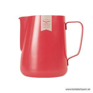 Espresso Gear - Pitcher Red - Non Stick Pitcher för att skumma mjölk till cappuccino och latte - 600ml