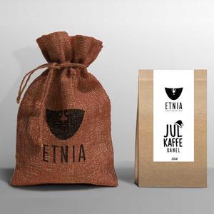 Etnia - Julkaffe Kanel - Lätt mörkrostat BRYGGMALET kaffe - 250g