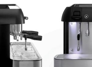 Iberital - Expression PRO - 3 Grupper - Svart - Minimalistisk, elegant och högpresterande espressomaskin - Med två kokare