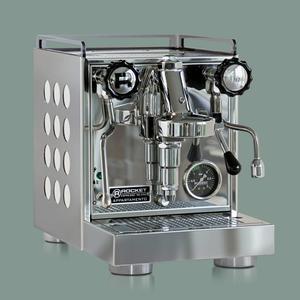 Rocket Espresso Milano - Appartamento - White - Vita detaljer i sidopanelerna - Espressomaskin