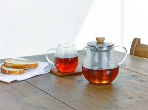 Hario - Tekanna Pitcher 700ml - Vacker tekanna i glas till 1-4 koppar te