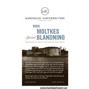 Waxholms Kafferosteri - von Moltkes Special Blandning - Mörkrostade kaffebönor - 500g