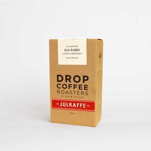 Drop Coffee - Julkaffe 2018 - Los Andes - El Salvador - Natural - Ljusrostade kaffebönor - 250g