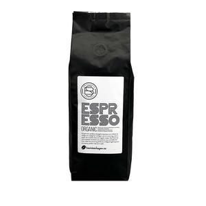Baristashopen - Espresso Organic - Ekologisk espresso - Extra Mörkrostade kaffebönor - 500g