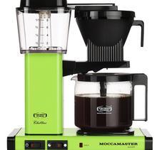 Moccamaster KBGC982 AO Fresh Green kaffebryggare