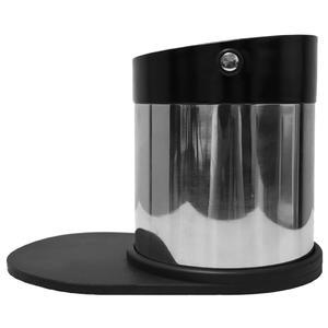 Espresso Gear - Sumplåda - Pisa Knockbox i rostfritt stål med inbyggd tampermatta