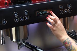 Iberital - Expression PRO - 2 Grupper - Vit - Minimalistisk, elegant och högpresterande espressomaskin - Med två kokare