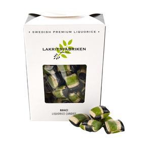 Lakritsfabriken - Liquorice Candies - Hårda Lakritskarameller - Salmiakserien - NH4Cl