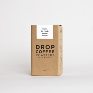 Drop Coffee - La Linda - Washed - Bolivia - Ljusrostade kaffebönor - 250g