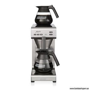 Bonamat - Matic 2 - Modell 2017 - Snabbfilterbryggare med vattenanslutning - Kaffebryggare