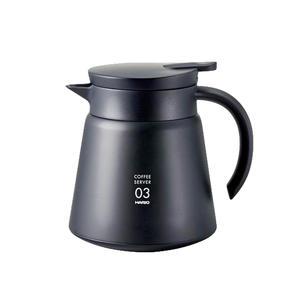 Hario - V60 03 Insulated Steel Server - Värmeisolerande kaffekanna  - 800ml