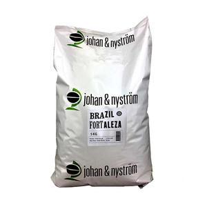 Johan & Nyström - Brazil Fortaleza - Mellanrostade kaffebönor - 5kg STOR PÅSE