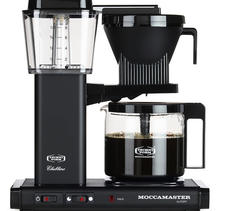 Moccamaster KBGC982 AO Mat Black Kaffebryggare