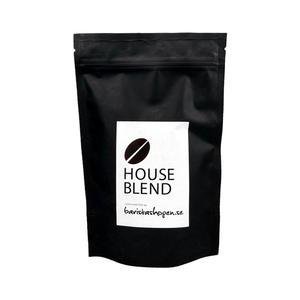 Baristashopen - House Blend - Brasilien och Nicaragua - Lätt mörkrostade kaffebönor - 250g