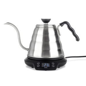 Hario - V60 Electric Power Kettle Buono with Variable Temperature - 0,8L - Elektrisk Vattenkokare med temperaturreglering - Gooseneck för pour-over