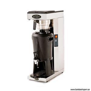 Coffee Queen - Mega Gold A - Termosbryggare - Brygger direkt ner i serveringsstation - Automatisk vattenpåfyllning