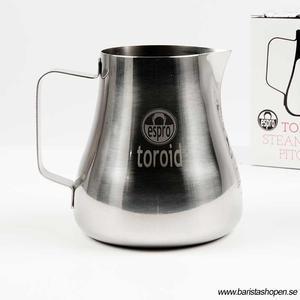 Espro - Toroid 2 - Mjölkskumningskanna i rostfritt stål för perfekt mikroskum till latte art - 600ml