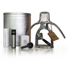 ROK Espresso Maker- Espressomaskin miljövänlig utan el
