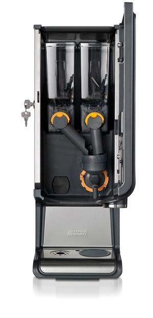 Bonamat - Bolero 2 White - Instantautomat - Kaffe snabbt och smidigt - Modell med två behållare