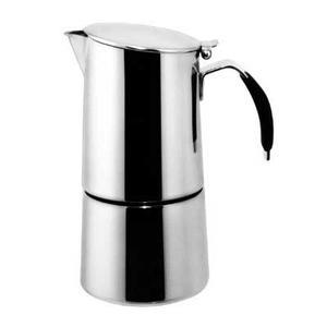 Ilsa - Espresso Coffee Maker - Omnia Express - Espressobryggare för spis eller induktion - 35cl (6 koppar)