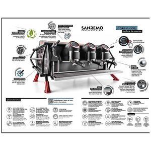 Sanremo - Café Racer - Dolmiti - Espressomaskin