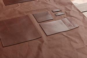 Espresso Gear - Gastronomi Apron Brown - förkläde i hög kvalitet - vaxad brun canvas och läder