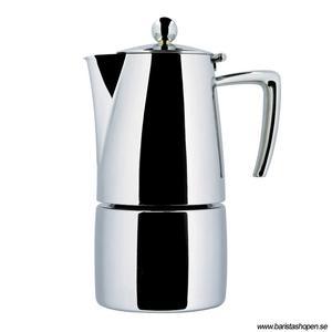 Ilsa - Mokabryggare - Slancio - Hyllad espressobryggare för spis eller induktion - 25cl (4 koppar)