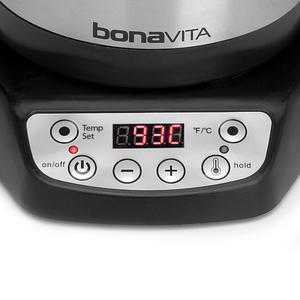 Bonavita - Electric 1.0 L Gooseneck Kettle EU Plug -  Variable Temperature - Elektrisk Vattenkokare med svanhals-pip