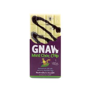 Gnaw - Mintsmak - Handgjord mörk choklad från Norfolk - 110 g