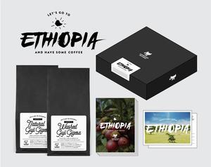 Kafferostare Per Nordby - BOX Let's go to Ethiopia - Guji Gigesa Natural och Washed - Ljusrostade kaffebönor från Etiopien - 2 x 350g