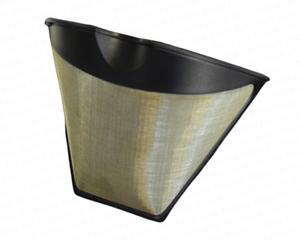 Swissinox -  KF4 - 1x4 permanent stålfilter som ersätter pappersfilter - passar även de flesta 1x2 filterhållare