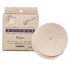 Hario - Pappersfilter Sifon - 100 stycken