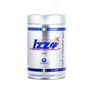Izzo - Silver Napolitano - Espressobönor - Mörkrostade kaffebönor i plåtburk - 250g