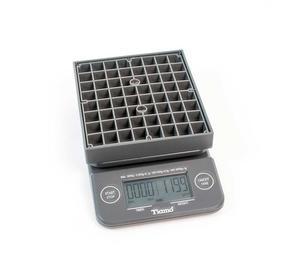 Tiamo - Timer Scale BLACK - Våg med timerfunktion - 0,1--3000g