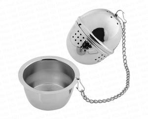 Tesil - Te-ägg - Tekula - Te infuser med  stativ - rostfritt stål