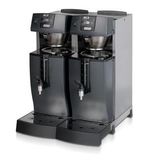 Bonamat - RLX 55 - Restaurangmaskin - Brygger i två fasta behållare -  Flexibel lösning för restaurang- och barmiljöer