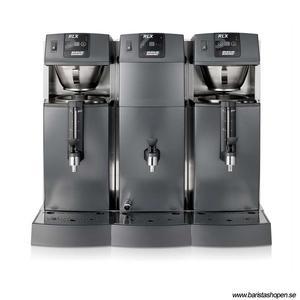 Bonamat - RLX 575 - Restaurangmaskin - Brygger i två behållare - Inklusive varmvatten - Flexibel lösning för restaurang- och barmiljöer